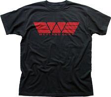 WEYLAND Corporation Corp YUTANI ALIENS PROMETHEUS black printed t-shirt 09868