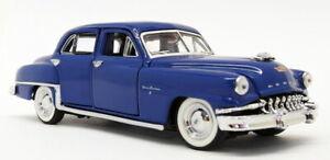 Franklin Mint 1/43 Scale Model Car B11UK13 - 1952 DeSoto Firedome - Bue