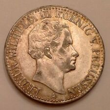 Germany - 1830 Prussia Friedrich Wilhelm III One 1 Thaler Silver Crown
