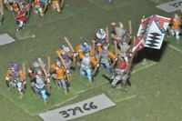 25mm medieval / english - wars of roses archers 12 figures - inf (37966)