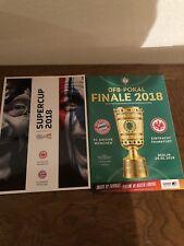 Programm DFL-Super-Cup 2018+DFB-Pokal-Finale 2018 FC Bayern München FCB