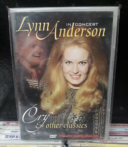 """LYNN ANDERSON  """"Cry & Other Classics""""  -  DVD + CD audio"""