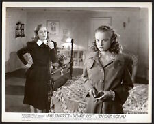 FAYE EMERSON & MONA FREEMAN film noir DANGER SIGNAL 1945 Vintage Orig Photo
