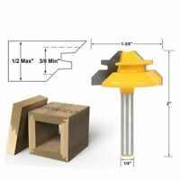 """1/4"""" Shank Woodworking Milling Cutter Carbide Alloy Router Bit for Wood Work"""