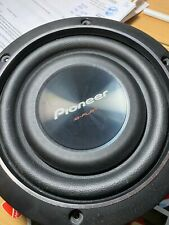 Pioneer iB FLAT Ts-Sw2002D2 8-Inch Shallow-Mount Subwoofer 600 Watts Max Power