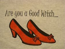 Vtg.Are you a Good Witch or A Bad Witch? Classic Hollyween ladies rare T-Shirt M