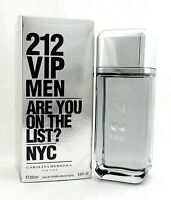 212 VIP Men Cologne by Carolina Herrera 6.8oz./ 200ml. EDT Spray NEW
