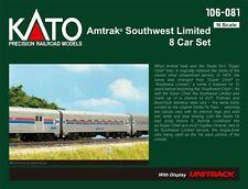 """kato 106-081  """"SOUTHWEST LIMITED"""" AMTRAK 8 car set"""