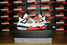 """2020 Air Jordan 4 Retro """"Fire Red"""" - MENS SIZES - DC7770-160 Brand New (IN HAND)"""