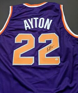 Deandre Ayton Phoenix Suns Autographed Signed Jersey Size XL COA