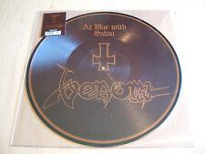 venom :  At War With Satan Vinyl LP Picture Disc Reissue  mint death metal