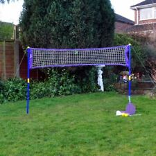 Nouveau Giant Badminton Tennis Set jardin Super Sport FAMILY GAMES SUMMER FUN PARTY