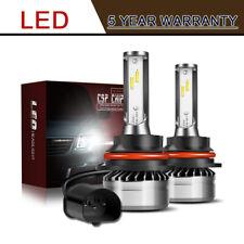 2×9007 HB5 LED Headlight Conversion Kit 60W 12000LM High Low Beam Bulb 6000K LXB