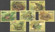 Timbres Grenouilles Tanzanie 1955/61 o lot 3126