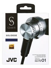 NEW JVC HA-FD01 Inner ear headphone CLASS-S SOLIDEGE canal earphone from JAPAN