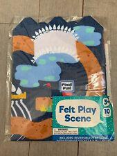 Dinosaur Felt Scene Book Play Set Target Brand New Play Sets Fossils
