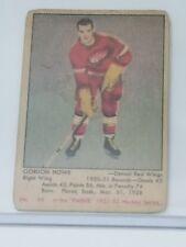 #66 Gordie Howe Detroit Red Wings Old Hockey Card