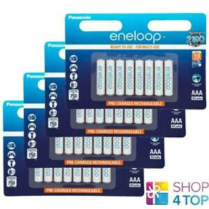 32 Panasonic eneloop Rechargeable AAA HR03 Batteries Blister Pack 1.2V 800mAh