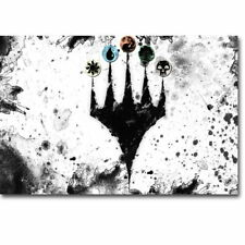 140781 Magic Th Gathering MTG Card Games Minimalist Wall Print Poster Affiche