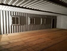 40 X 24. Ft Linked Container Workshop.. Strengthened. Anti Condensation Paint.