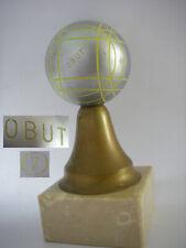 VINTAGE / 1.3KG / Trophée OBUT compétition boules de pétanque triplette fanny