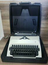 Vintage Typewriter, Adler J-5 Rare Black Keys, Case Included 💥WORKS💥