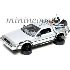 WELLY 22499 BACK TO THE FUTURE TIME MACHINE DMC DELOREAN 1/24 PART 2 FLYING
