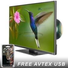 "AVTEX L219DRS PRO 21.5"" HD 12V TV DVD CARAVAN CAMPERVAN MOTORHOME BOAT TRUCK USB"