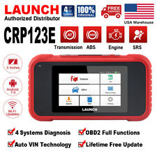 LAUNCH CRP123E OBD2 Scanner Diagnostic Tool Check Engine ABS Airbag Transmission
