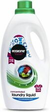 More details for ecozone bio laundry liquid concentrated 50 washes - 2l