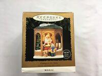 Hallmark Keepsake Coming To See Santa Ornament Santa Magic 1995 Christmas Tree