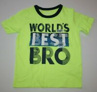 """ANNOUNCEMENT ~NEW~ /""""BIG BRO/"""" Boys Brother Graphic Shirt 4 4T XS 5-6 Small Gift"""