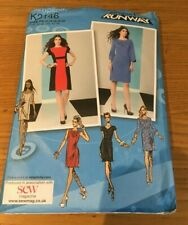 SIMPLICITY Project Runway MISSES DRESS SEWING PATTERN * SIZE 12 - 20 * K2146