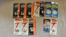 12 Packages of RAYOVAC Flashlite bulbs, All sealed