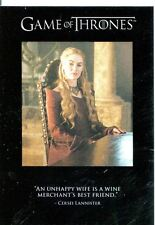 Game Of Thrones Season 3 Quotable Chase Card Q23