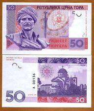 Montenegro, 50 Perpera, 2016, Limited Private issue, Specimen, UNC
