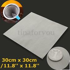 304 Stainless Steel 50 Mesh Woven Wire Cloth Screen Water Filtration Sheet