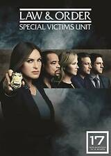 Law  Order: Special Victims Unit SVU Se ason 17- The Seventeenth Year DVD, 2016