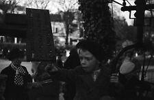 PARIS 1935 - Manège Chevaux de Bois Parc - 11 Négatifs 24x36 - 34-3-13