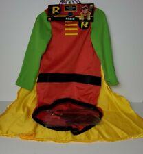 Rubies DC  ROBIN DOG Pet COSTUME XL Shirt Detachable Cape Mask Halloween