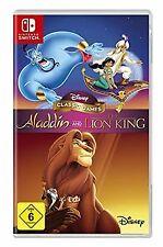 Disney Classic Games Aladdin and the Lion King de...   Game   estado muy bien