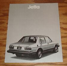Original 1980 Volkswagen VW Jetta Foldout Sales Brochure 80