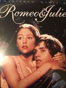 ROMEO AND JULIET 2 VERSIONS!! RARE WITH TOWER RECORD LABELS LASERDISC BRAND NEW