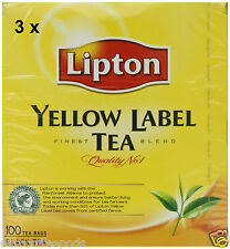 3 x Twinings Lipton Yellow Label Tea (300 teabags)