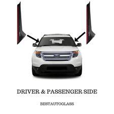11-18 Ford Explorer Windshield Outer Trim Pillar Molding Passenger & Driver Side