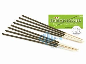 Garnelenhaus Shrimp Lollies Moringa Stick Crystal Bee Cherry Shrimp Food 8 pcs