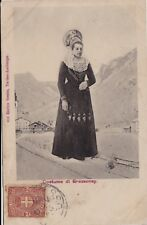GRESSONEY: Costume   1900