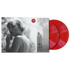 Taylor Swift -Folklore Exclusive Limited Edition Red Colored 2 Vinyl LP Ship Now