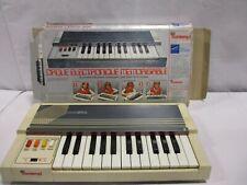 Vintage Bontempi Electronic Computer Organ With Box Italy