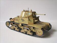 Modelik 27/04 - carro armato M 13/40 1: 25 con parti Lasercut